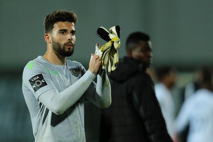 Maximiano agarrou a titularidade no Sporting