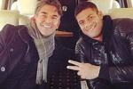 Theodoro Fonseca e Hulk, quando representava o ex-FC Porto