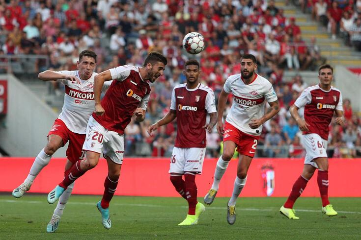 DIRETO | Spartak-Braga