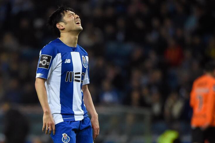 Nakajima não voltou a jogar pelo FC Porto depois da retoma