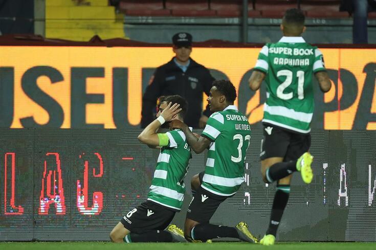 Melhor golo da jornada 27 foi de Bruno Fernandes