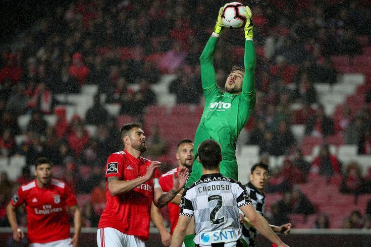 Lisboa, 29/01/2019 - O Sport Lisboa e Benfica recebeu esta noite o Boavista Futebol Clube no Estádio