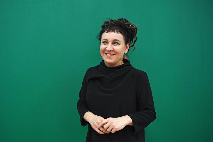 A polaca Olga Tokarczuk