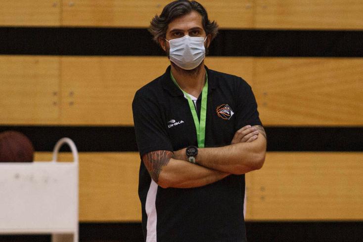 Ivo Rego, treinador da Académica