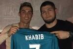 Khabib e Ronaldo são amigos de longa data