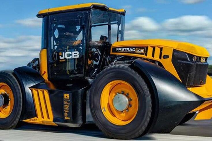 Novo recorde de velocidade…num tractor
