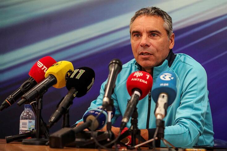 Jorge Casquilha, treinador do Cova da Piedade