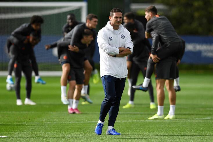 Soccer Football - Champions League- Chelsea Training - Cobham Training Centre, Stoke d'Abernon, Cobham
