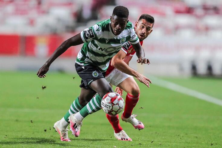 Nuno Mendes, pérola da formação do Sporting