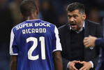 Sérgio Conceição e Ricardo Pereira quando o lateral estava no FC Porto