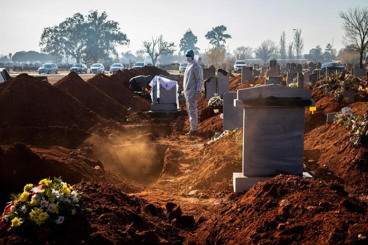 Maior número de casos e de mortos continua a registar-se na África Austral