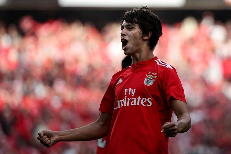 João Félix despediu-se do Benfica nas redes sociais