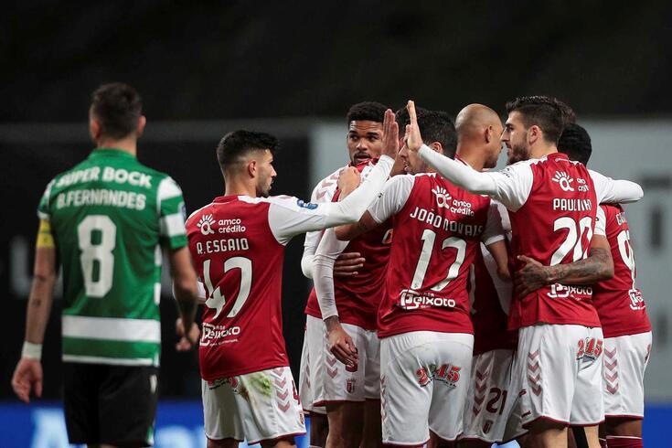 Braga venceu o Sporting por 2-1 e está na final da Taça da Liga