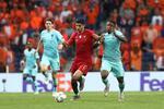 Gonçalo Guedes marcou o golo da vitória de Portugal