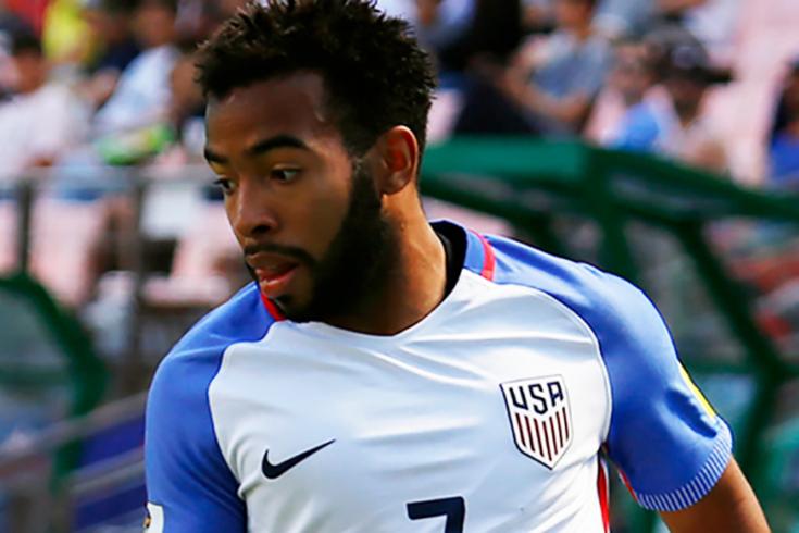 Eryk Williamson foi internacional pela seleção sub-20 dos EUA