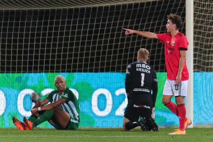 Waldschmidt bisou na vitória do Benfica