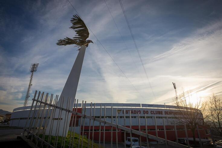 Recinto do Aves está pronto para o regresso do campeonato