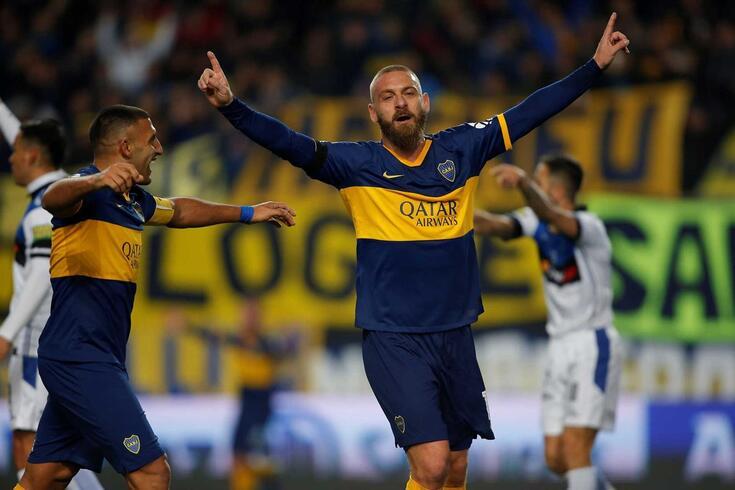 De Rossi deixou a Roma e abraçou uma experiência exótica no futebol argentino