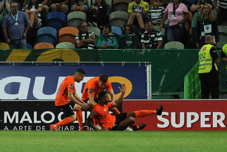 Lisboa, 31/08/2019 - O Sporting Clube de Portugal recebeu esta noite o Rio Ave FC no Estádio de Alvalade