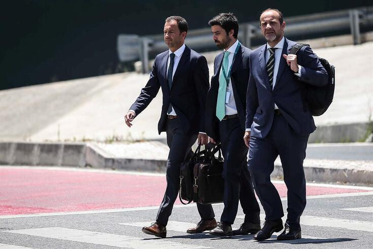 Frederico Varandas, Salgado Zenha e João Sampaio administram a SAD