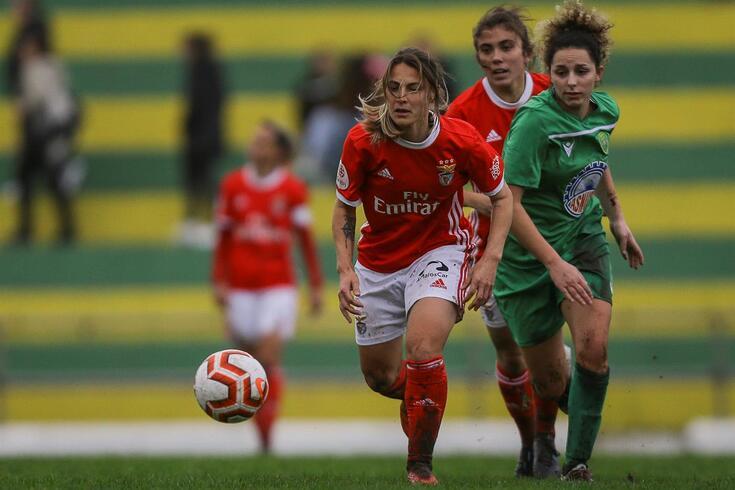 Daiane Rodrigues: mais uma jogadora a deixar o Benfica