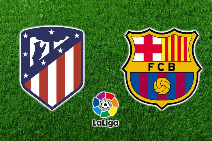 DIRETO | Atlético de Madrid-Barcelona