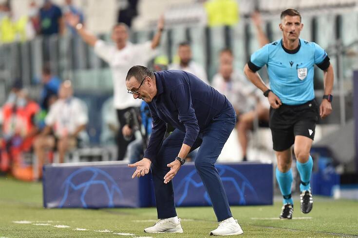 Maurizio Sarri esteve uma época na Juventus