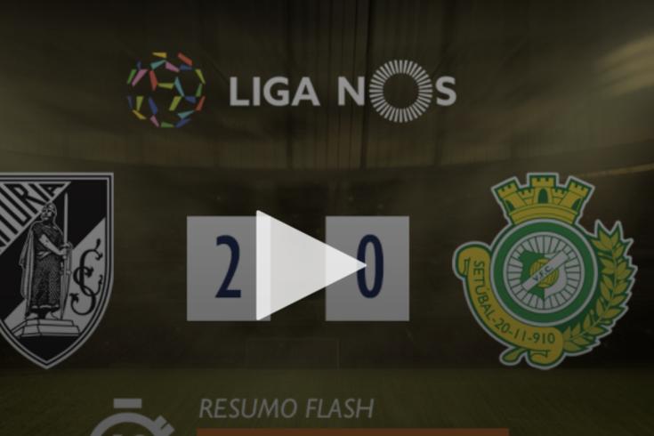 Dois golos, VAR e três expulsões no duelo de Vitórias em Guimarães