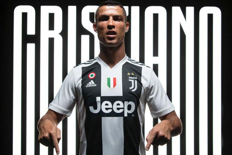 4cd8db867 Da receção apoteótica às frases marcantes  o resumo do dia CR7 da Juventus
