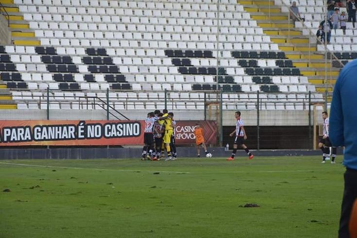 Varzim somou primeiro triunfo na II Liga