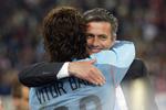 Vítor Baía e José Mourinho