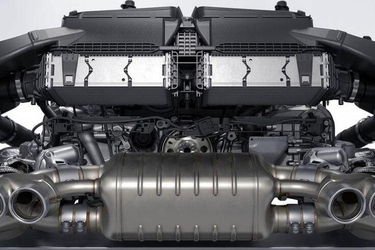 Porsche construiu motor para a Fórmula 1