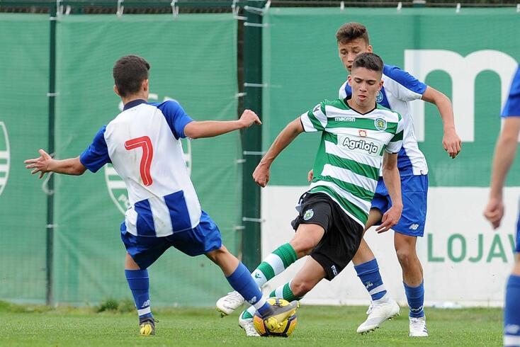 Gabriel Carvalho (ex-Sporting) é um dos jovens que reforça o FC Porto
