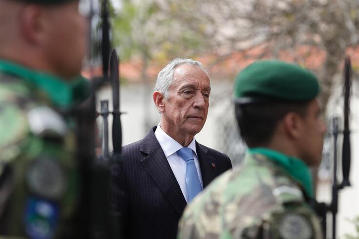Marcelo Rebelo de Sousa consternado com a tragédia