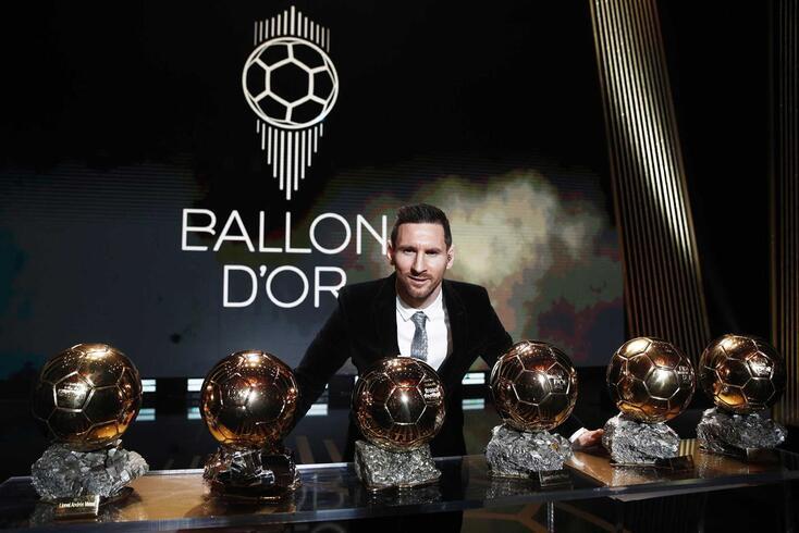 Messi passa a ter seis Bolas de Ouro