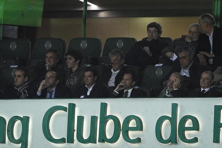 Frederico Varandas ao lado de Rogério Alves