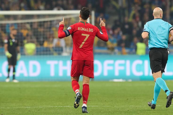 Ronaldo, uma festa que se repetiu 700 vezes na carreira