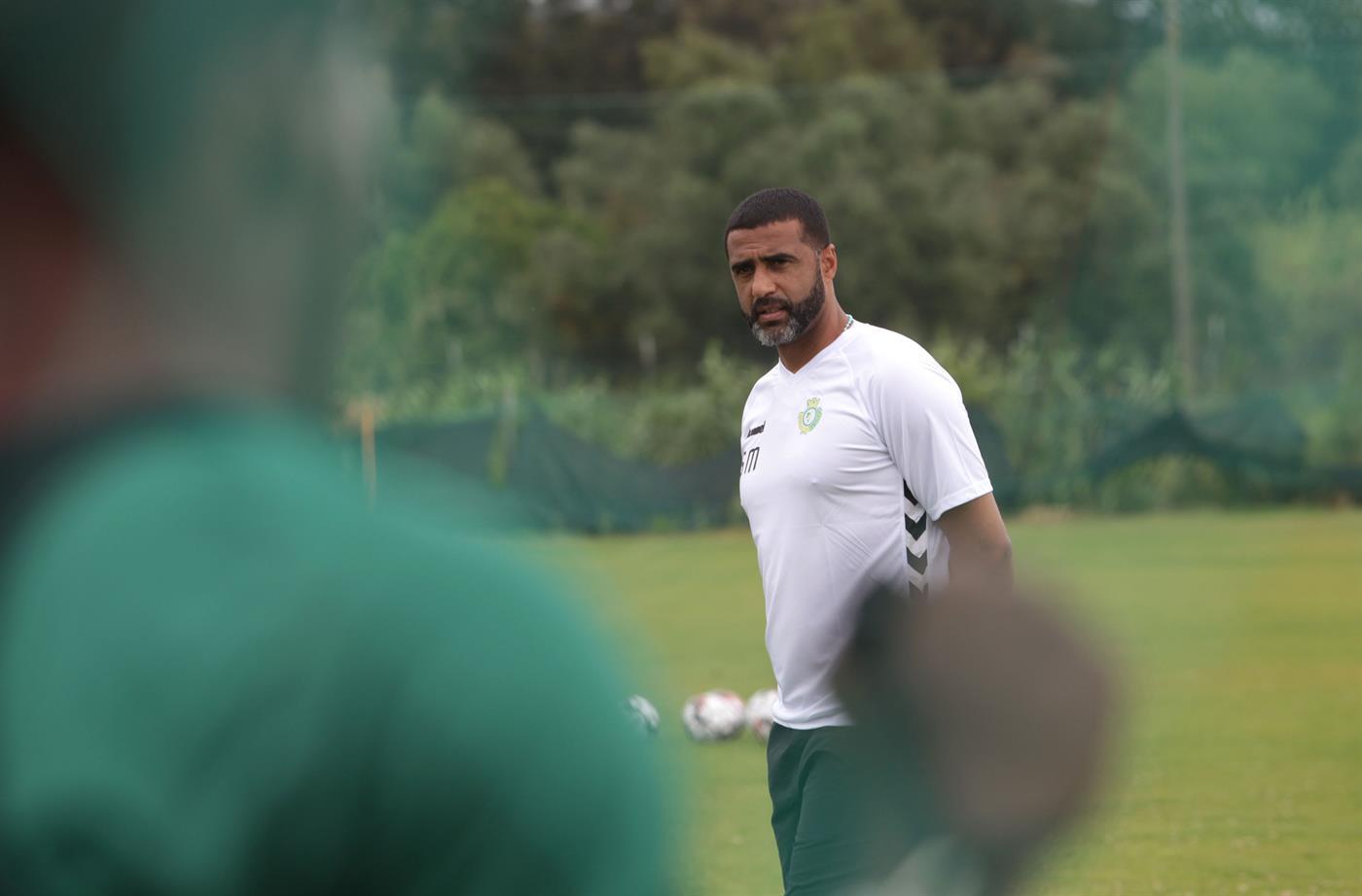 Setúbal 24/06/2019 - Sandro Mendes orienta  o primeiro treino  o primeiro treino da época 2019/20 no