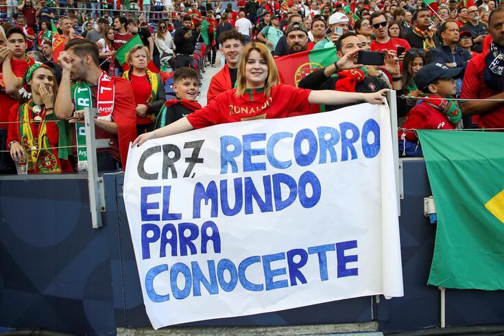 Não irá faltar apoio a Portugal em mais um jogo de qualificação para o Europeu