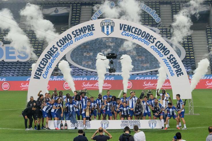 FC Porto sagrou-se campeão nacional