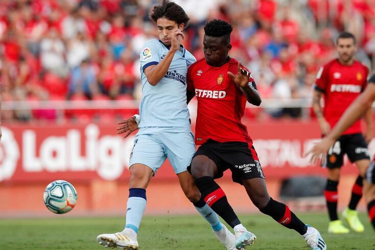 João Félix foi alvo de insultos no jogo entre Maiorca e Atlético