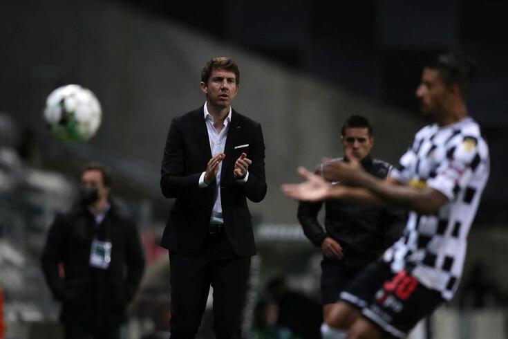 Vasco Seabra, treinador do Boavista