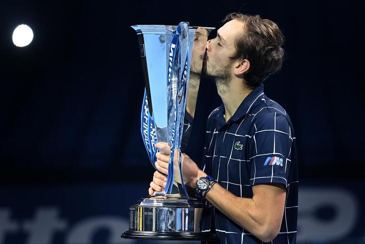 Daniil Medvedev conquistou as ATP Finals