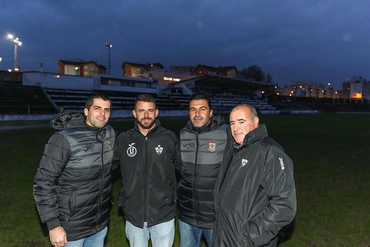 Pedro Azevedo, Diogo Almeida, João Ricardo e José Luís são amigos e adversários no próximo domingo