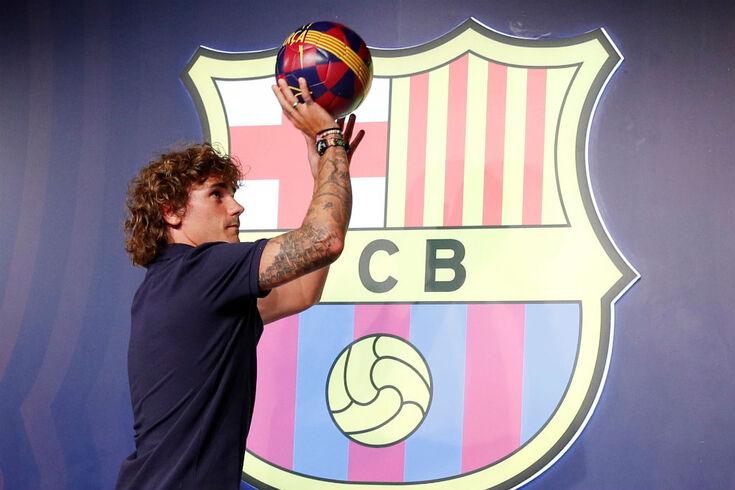 Griezmann já veste à Barça
