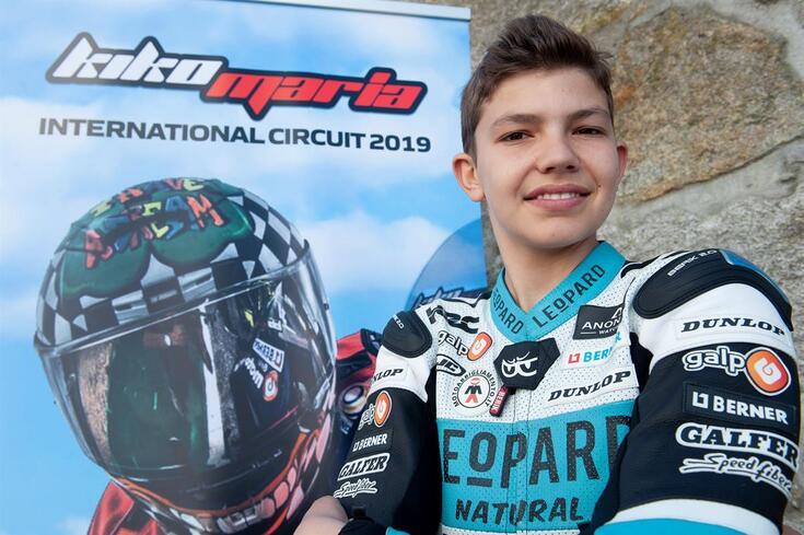 Kiko Maria tem 14 anos, admira Miguel Oliveira e já olha para a Moto3