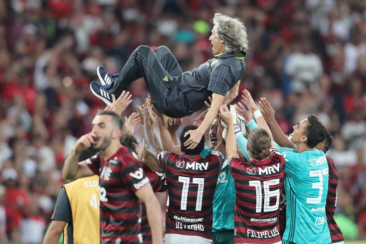 Jorge Jesus, um ídolo no Flamengo