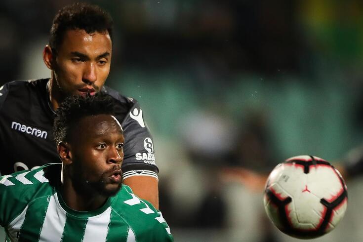 Mendy (V. Setúbal) foi o autor do golo que eliminou Moçambique