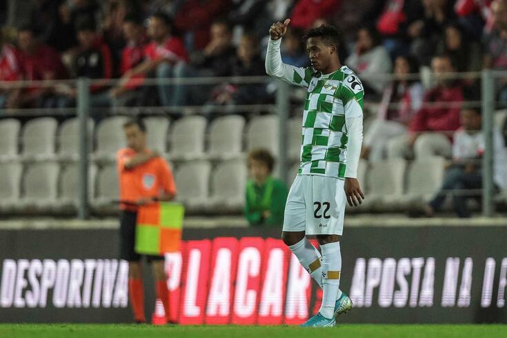 Luther Singh marcou no empate entre Moreirense e Rio Ave