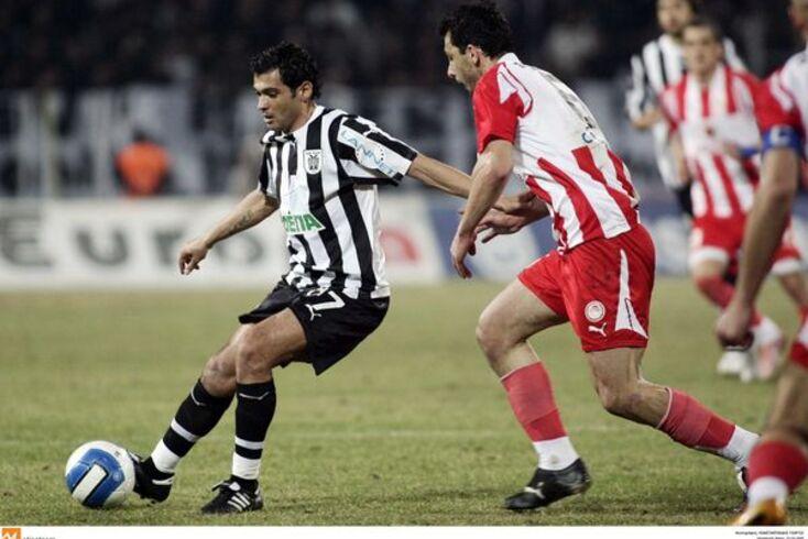 Sérgio Conceição foi jogador do PAOK de 2007 a 2010, felicitando o clube pela conquista do título